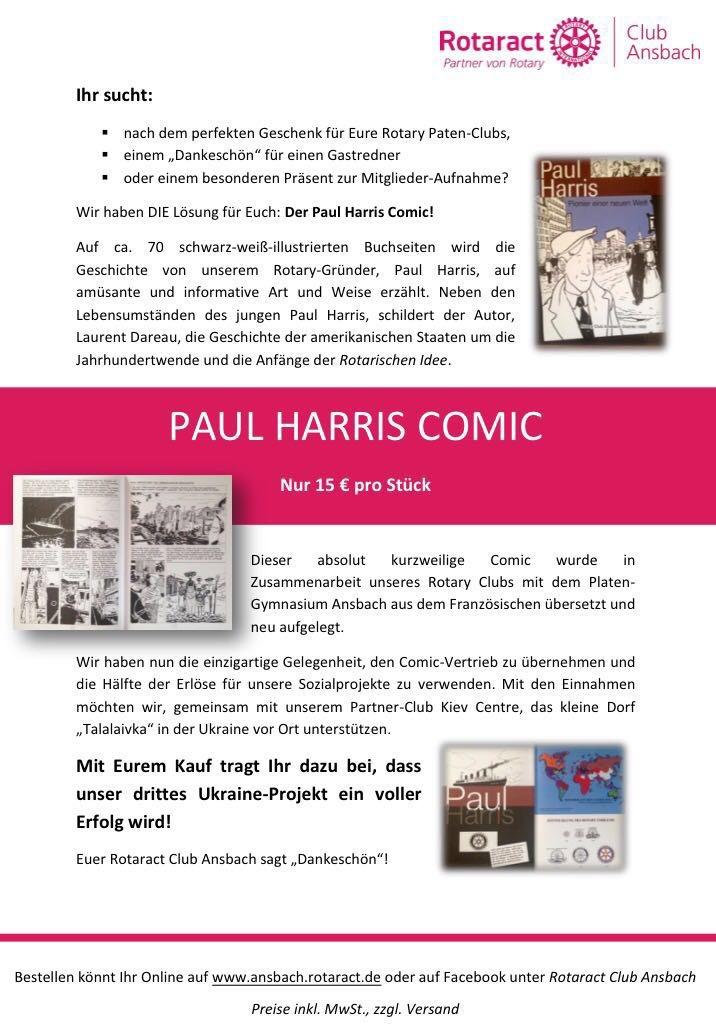 Werbeanzeige P.H. Comic